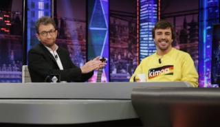 Fernando Alonso en El Hormiguero