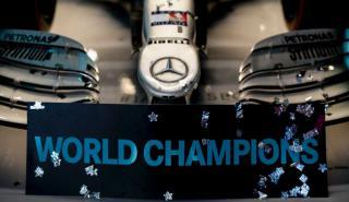 Mercedes celebra su sexto título de F1