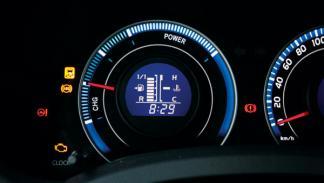 Toyota Auris híbrido indicador de carga de la batería