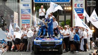 Carlos Sainz tercera posición Dakar 2011