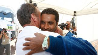 Kris Nissen Nasser Al-Attiyah Dakar 2011