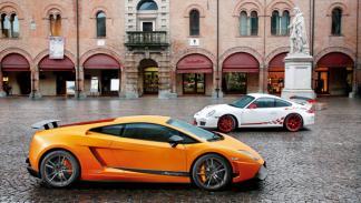 Lamborghini Gallardo Superleggera, Porsche 911 GT3 RS