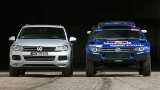Fotos: El Race Touareg 3 listo para el Dakar