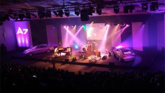Fotos: Jamie Cullum da la bienvenida al Audi A7 Sportback con un concierto