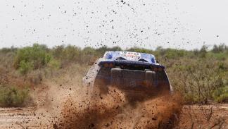 Fotos: Al-Attiyah, rey de las dunas sudamericanas; Sainz sube al podio