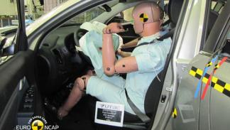 Kia Sportage crash test Euro NCAP 2010