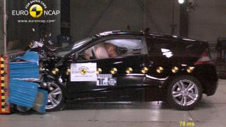 Honda CR-Z crash test Euro NCAP 2010