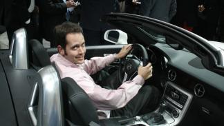 Habitáculo del nuevo Mercedes SLK
