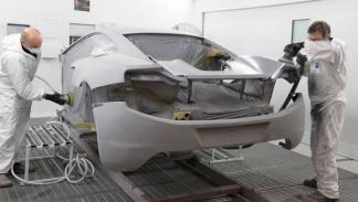 McLaren MP4-12C montaje