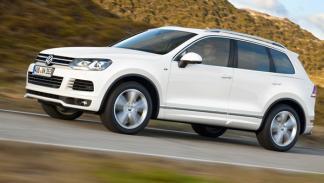 Volkswagen Touareg R-line lateral suv 4x4 todoterreno