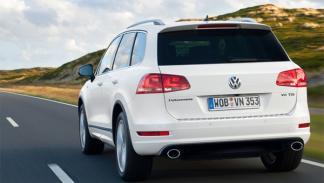 Volkswagen Touareg R-line trasera suv 4x4 todoterreno