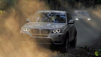 luz diurna BMW X3.