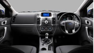 interior nuevo Ford Ranger