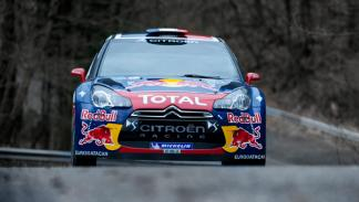 Citroën DS3 WRC frontal