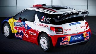 Citroën DS3 WRC trasera