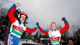 Mikko Hirvonen Rally Suecia