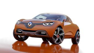 Frontal del Renault Captur