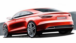 Audi A3 Concept trasera