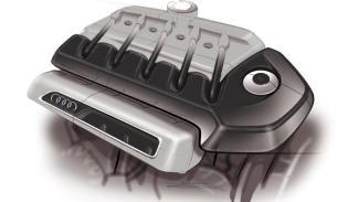 Audi A3 concept motor