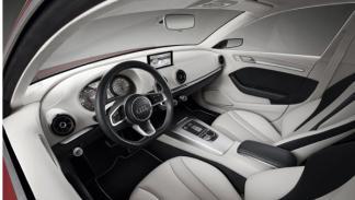 Audi A3 concept interior delantero