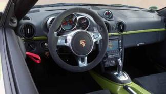 Porsche Cayman R interior salpicadero aire radio opcion