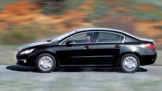 Peugeot 508 movimiento exterior barrido