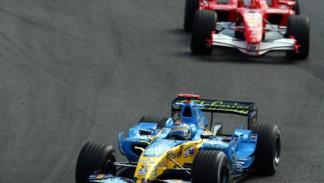 Alonso y Schumacher, Brasil 2006
