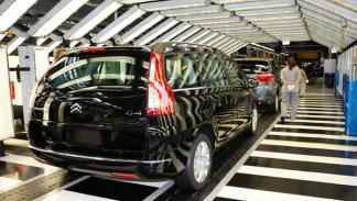 Fábrica de Citroën Peugeot en Vigo