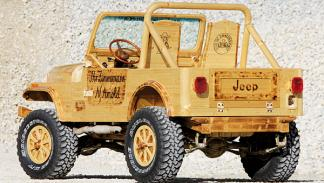 Jeep CJ-7 madera Nobert Arnold todoterreno