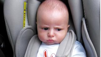 Bebé en sillita