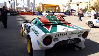 Lancia Stratos Francone VIII Rally Costa Brava Histórico