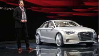 Audi A3 e-tron concept presentación Salón Shangai