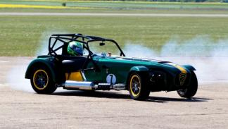 Caterham Seven Team Lotus dinamic