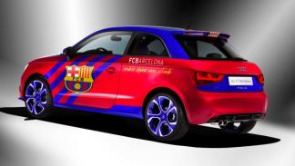 Audi A1 FC Barcelona trasera