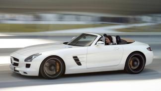 SLS AMG Roadster barrido