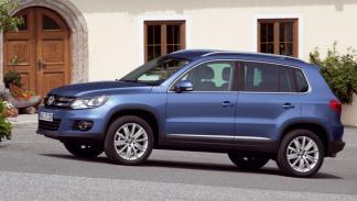 SUV Tiguan lateral Volkswagen nuevo