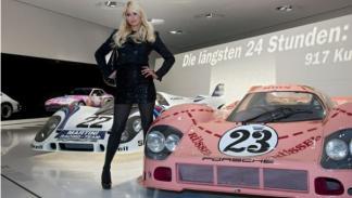 Museo Porsche Paris Hilton