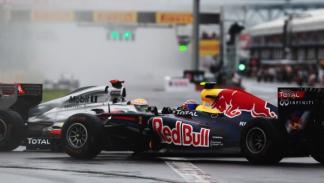 Lewis Hamilton-Mark Webber