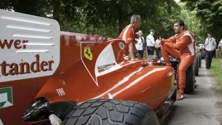 Gené pilotó el monoplaza con el que compitió Alonso en el pasado Mundial de F1