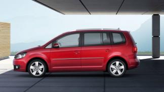 Lateral del VW Touran