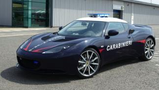 Lotus Evora S Carabinieri lateral