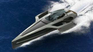 Audi-trimaran-navegando-motores-diésel-eléctrico