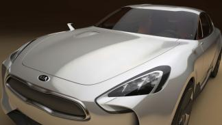 Kia-Four-Door-Sports-Sedan-frankfurt-frontal-lateral