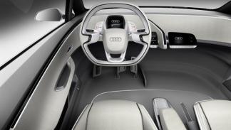 Audi A2 concept interior. Salón de Frankfurt 2011