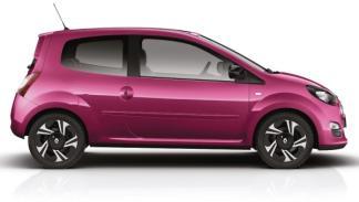 Lateral del nuevo Renault Twingo