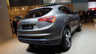 Maserati Kubang trasera Salón de Frankfurt 2011