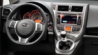 Subaru Trezia foto de salpicadero
