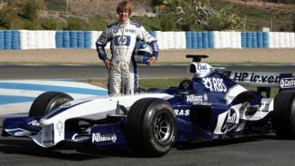 Sebastian Vettel-Test Williams-Jerez 2005