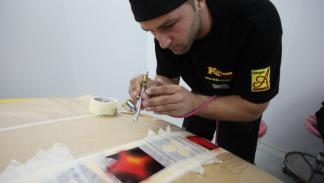 MTV Tuning España: detalles de pintura
