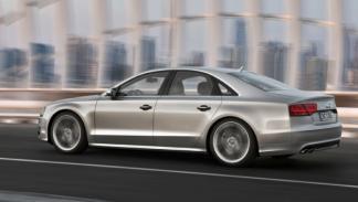 Trasera del Audi S8